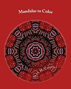Mandalas to Color: Adult Coloring Book by Jean M Cogdell (2015-12-09)