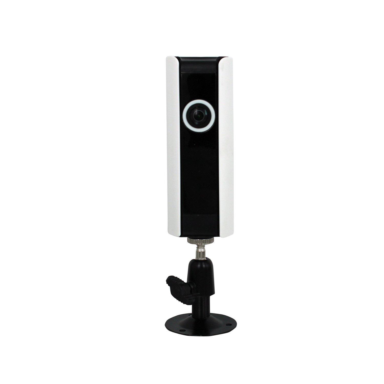 Haus Ip Security Camera System Überwachungskamera Drahtlose , Infrarot-Nachtsicht / 1 Million Pixel Di / Remote Viewing Wireless Ip-Netzwerk-Kamera White
