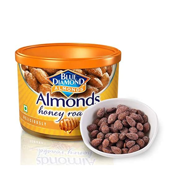 Blue Diamond Almonds, Honey Roasted, 150gm