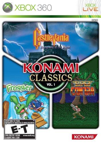 Konami Classics Volume 1 - Xbox 360 (Arcade Alien Game)