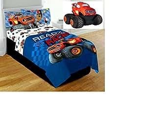 Amazon.com: Blaze Monster Machine Truck Twin/full ...