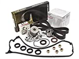 d16y8 valves - Evergreen TBK224MVCN2 96-00 Honda Civic D16Y7 D16Y8 & Timing Belt Kit Valve Cover Gasket NPW Water Pump
