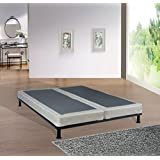 Spinal Solution 4 Fully Assembled Split Box Spring for Mattress, Queen