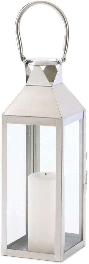 Koehler D1044 15 Inch Manhattan Candle Holder Lantern