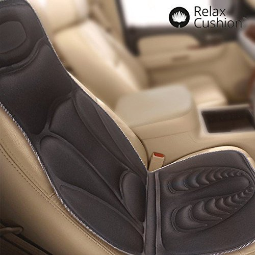 CEXPRESS Relax Cushion Thermal Shiatsu Massage Seat Mat b...