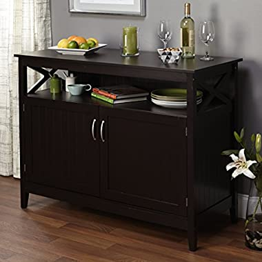 Simple Living Southport Espresso Dining Wood Contemporary Buffet