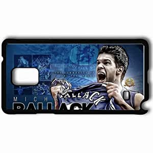 Personalized Samsung Note 4 Cell phone Case/Cover Skin 2013 best michael ballack chelsea Black