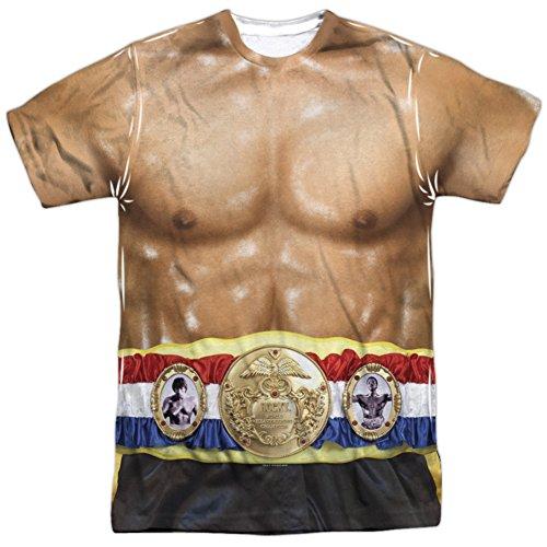 Rocky- Italian Stalion Costume Tee T-Shirt Size -