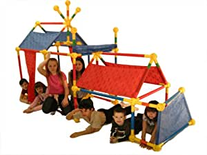 Toobeez 114 Piece Super Fort Kit, sold as a set of 2