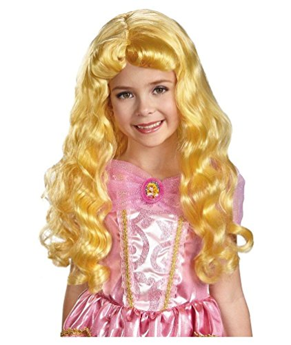 Sleeping Beauty Child Wig - Aurora Kids Wig