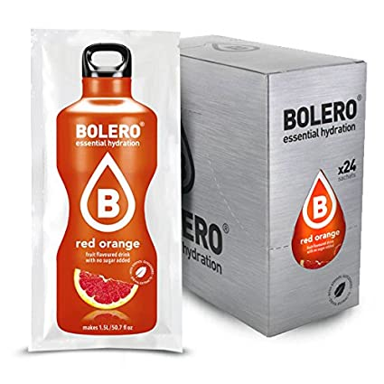 Bolero – Instant Bebidas polvo icetea melocotón Azúcar libre sin azúcar almendra Leche 24pzx9gr