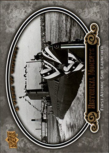 2009 UD A Piece of History #153 First Atomic Submarine Launched Card