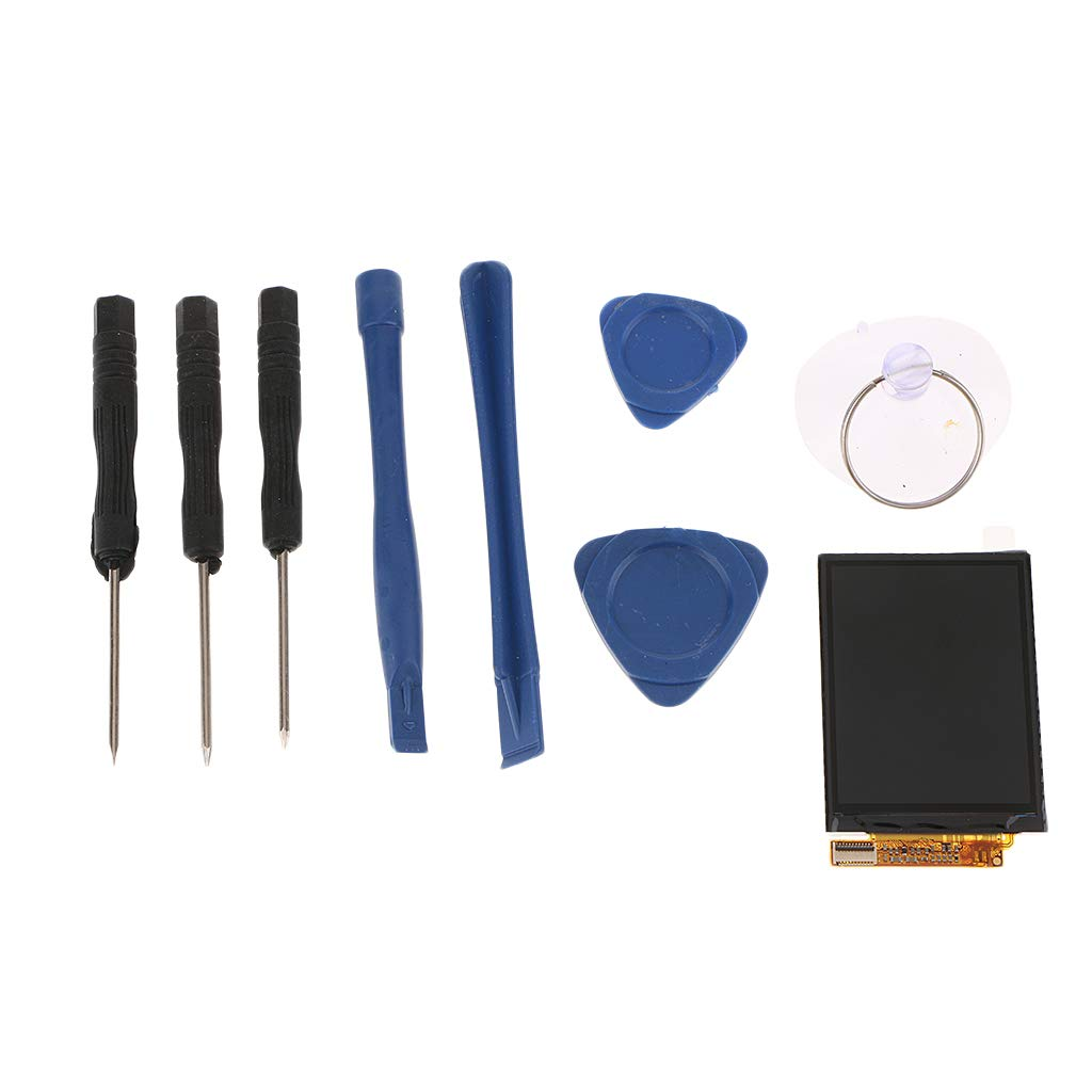 Baoblaze LCD Display Touch Screen Assembly Replacement for iPod Nano 4 4th with Tool