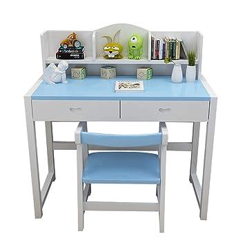 Juegos de mesas y sillas Mesa de estudio para niños y combinación de silla en casa