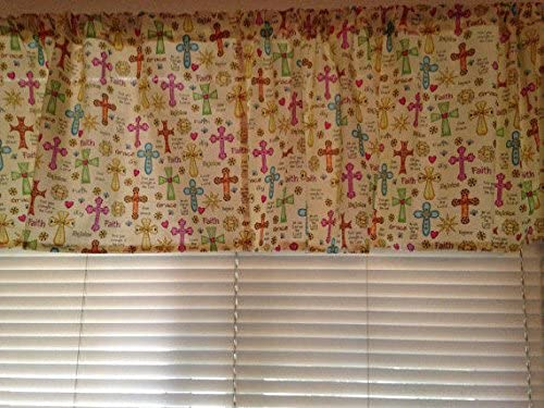 Country Snuggles Valance Curtain Panel Wonder Woman Lined 42 W x 84 L