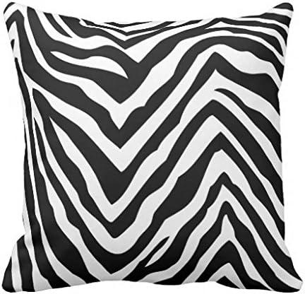 Cuscini Zebrati.Cuscini Per Divano Casa Decorativo Nero Bianco Zebrato Copertura