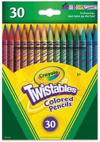 Crayola Twistables Colored Pencils, 30 Count,  Gift