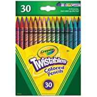 Crayola Twistables Colored Pencils, 30 Count,  Gift
