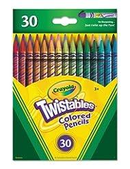 Crayola; Twistables; Colored Pencils; Art Tools; 30 Count; Br...