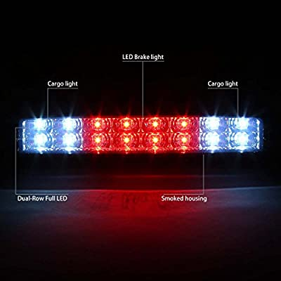 DNA Motoring 3BL-FSPRAN99-LED-SM Third Brake Light: Automotive