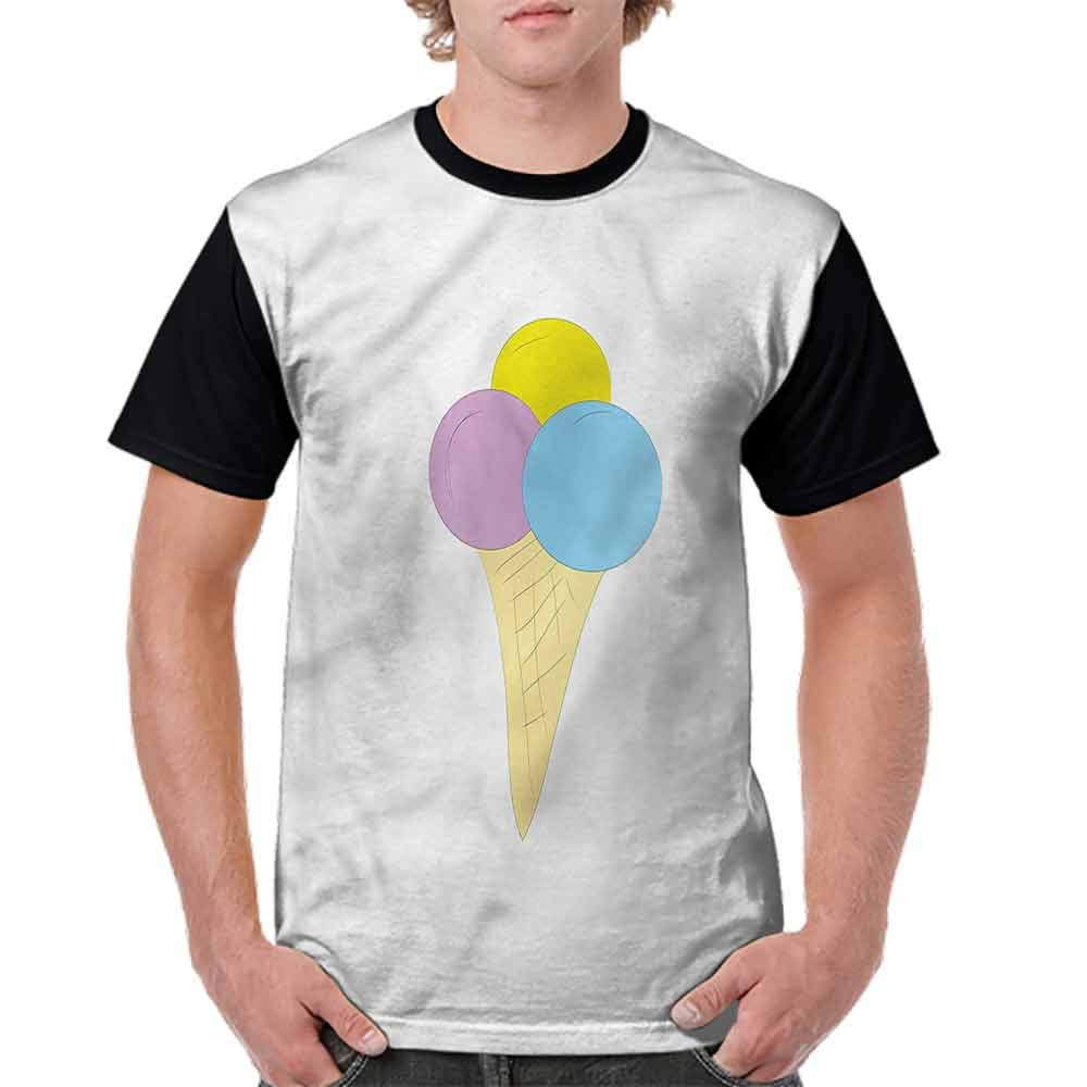 Casual Short Sleeve Graphic Tee Shirts,Old Icon Dots Fashion Personality Customization