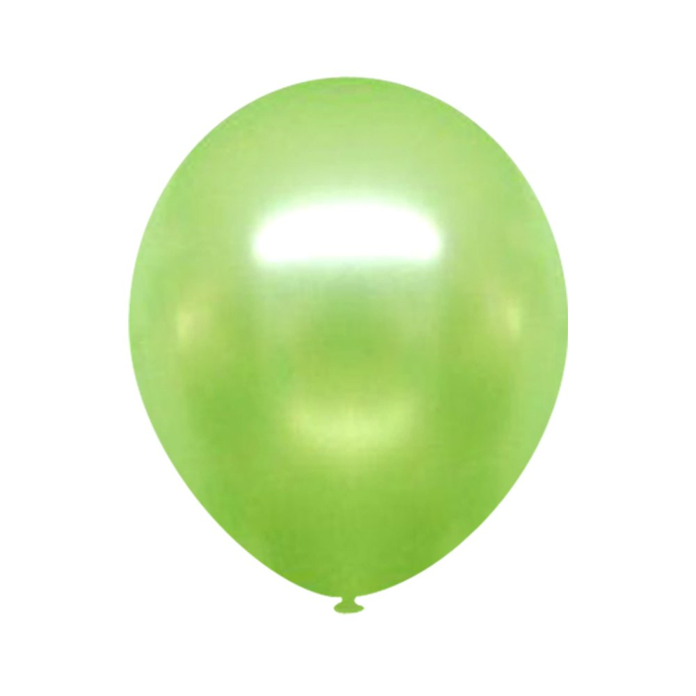 Neo LOONS 12'' Pearl Light Green Premium Latex Balloons -- Great for Kids , Adult Birthdays, Weddings , Receptions, Baby Showers, Water Fights, or Any Celebration, Pack of 100