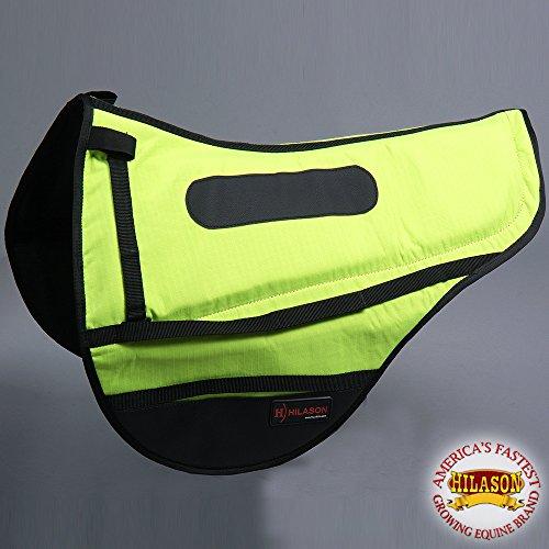 (HILASON Cta135 Endurance Saddle Pad - Lime Green)