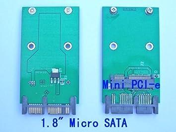 Amazon.com: Adaptador de tarjeta SSD | PCI-E MSATA Mini PCIe ...