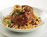 "Kansas City Steaks 4 Veal Osso Buco Hindshanks - 3"" thick, 1 lb each"