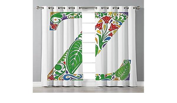 Cortinas de ventana con arandelas de satén, decoración del hogar, templo griego antiguo con nubes, dioses míticos griegos, ruinas europias, decoración de patrimonio, color azul crema, 2 paneles de cortinas para ventana,