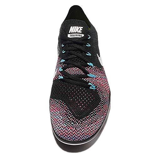 653ee6eac28574 ... Nike Woherren Free Focus Flyknit 2 schwarz Weiß-Racer Rosa Rosa Rosa  Größe 10 US