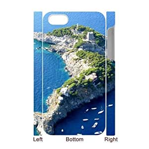 island CHA80322603D Art Print Design Phone Back Case Customized Hard Shell Protection Iphone 4,4S