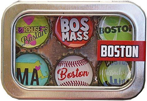 Kate Grenier Designs m6: bos Boston Magnet six pack ()