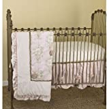 Lollipops and Roses 3 Piece Crib Bedding Set
