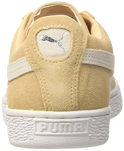 Puma Unisex-volwassenen Suède Classic + Low-top Beige (natuurlijke Vachetta-puma Wit 08)