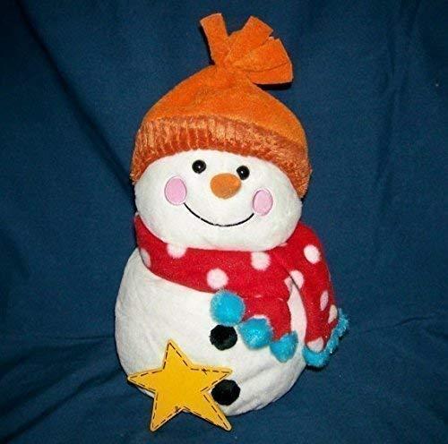 Personalized Plush Snowman with Orange ()