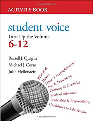 Amazon.com: Student Voice: Turn Up the Volume 6-12 Activity Book ...