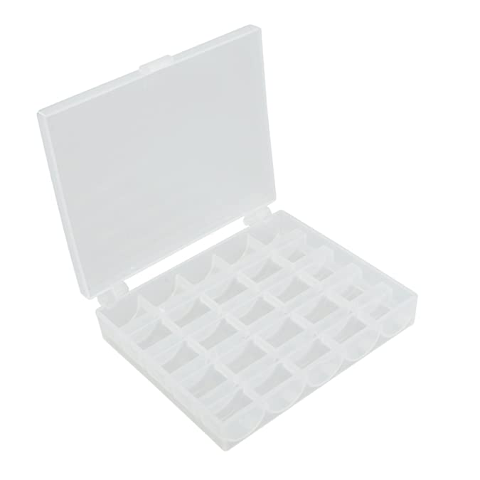 Amazon.com: TOOGOO(R) Bobbin Box Factory Sealed Bobbin Storage Organizer Box: Jewelry