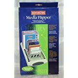 Kensington Media Flipper Stores 15 CDs, Zip Disks, Superdisks or 60 Diskettes