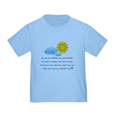 994b518ad0a Amazon.com  CafePress - You are My Sunshine Toddler T-Shirt - Cute ...