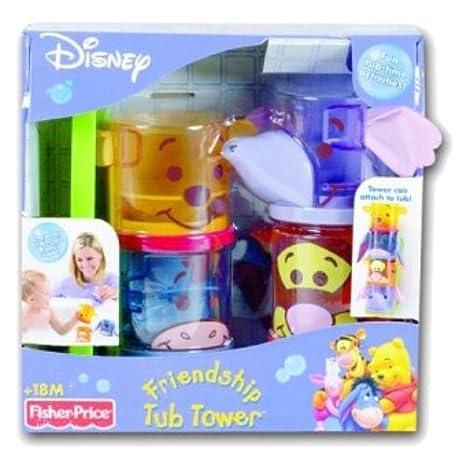 Mattel K4254 - 1, Toy Edad - Winnie - Amigos Del Baño Empilos: Amazon.es: Juguetes y juegos
