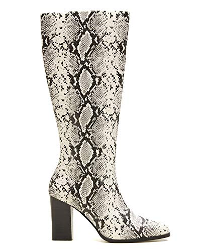 Donna Snake effect Boots 33025802 Mango 4dHq0PgPx