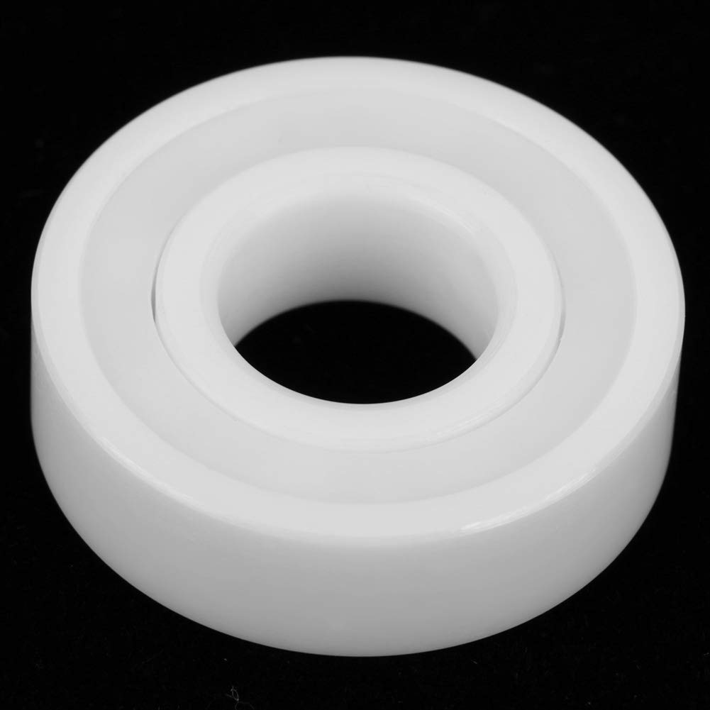 2pcs 6001-2RS Rillenkugellager doppelt versiegelt Keramik ZrO2 hohe Pr/äzision versiegelt voll wei/ß 12 8mm 28