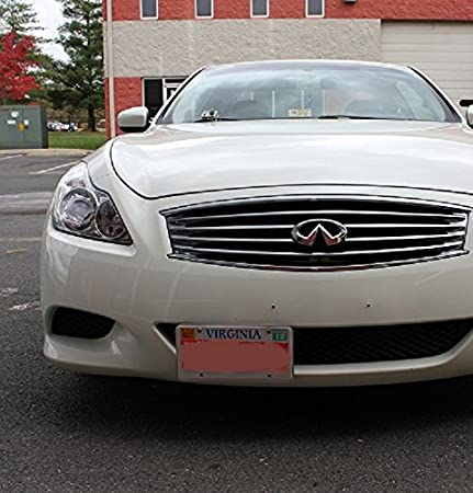 Front Bumper License Plate For Infiniti G37 Q50 Q60 Tow Hook Mount ...