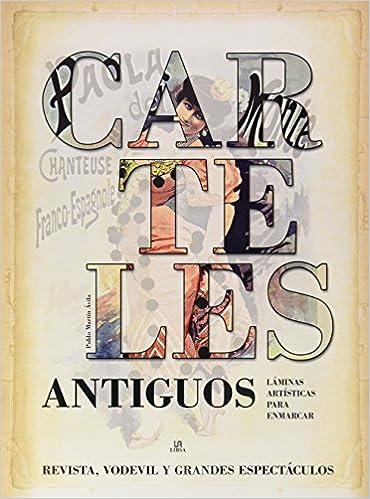 Carteles Antiguos (Posters Art): Amazon.es: Pablo Martín ...