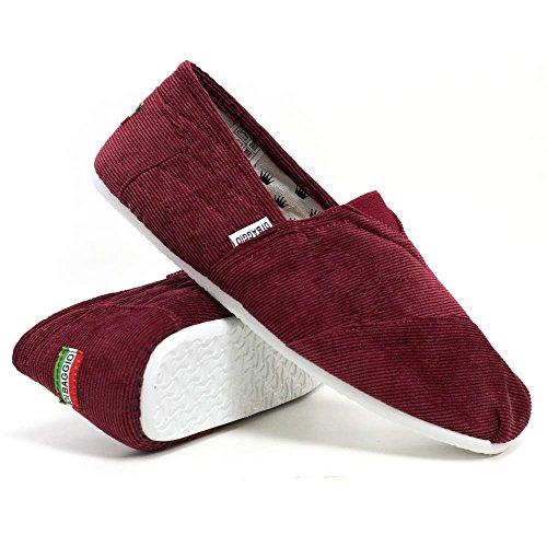 Rosso Velluto da A barca Scarpe Coste Di Baggio uomo AqXR6w8H