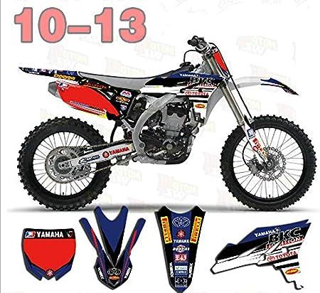 3M Customized Motorcycle Motocross Bike Graphics Stickers Background Decals For Yamaha YZ250F YZF250 2010 2011 2012 2013 YZ 250F YZF 250 Racing Kits TZ-YZFRC250-17