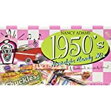 1950's Retro Candy Gift Box-Decade Box Gift Basket - Classic 50's Candy - 9.75OZ (276g)