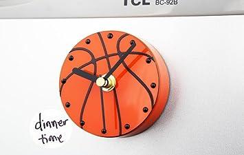 Kühlschrank Uhr Magnetisch : Amazon wanduhr d kreativ sport fußball kühlschrank glocke
