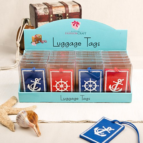 192 Nautical Luggage Tags From Gifts By Fashioncraft
